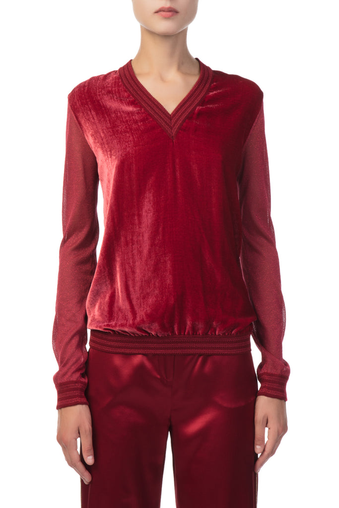 Roberto Cavalli - Knitted Red Pull