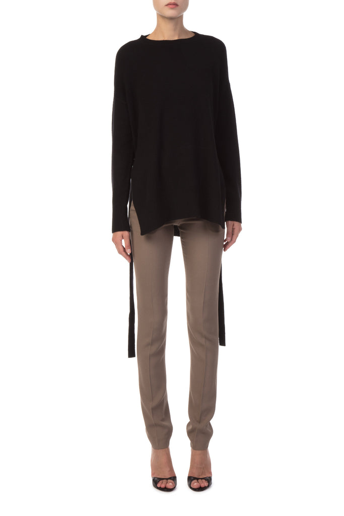 Theory - Black Cashmere Sweater