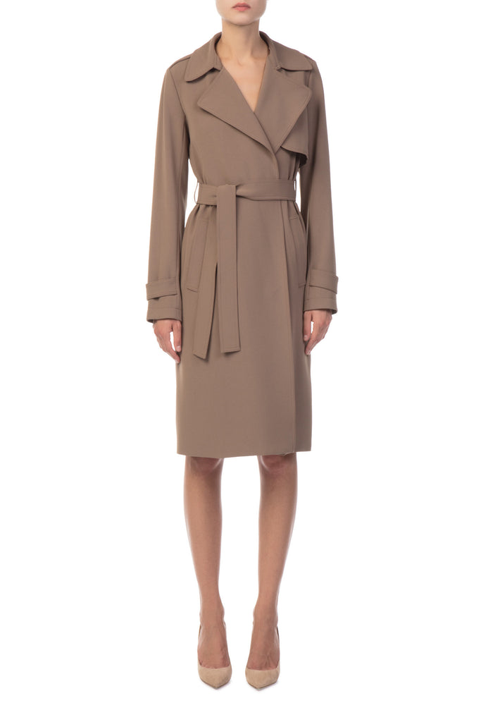 Theory - Brown Belted Coat