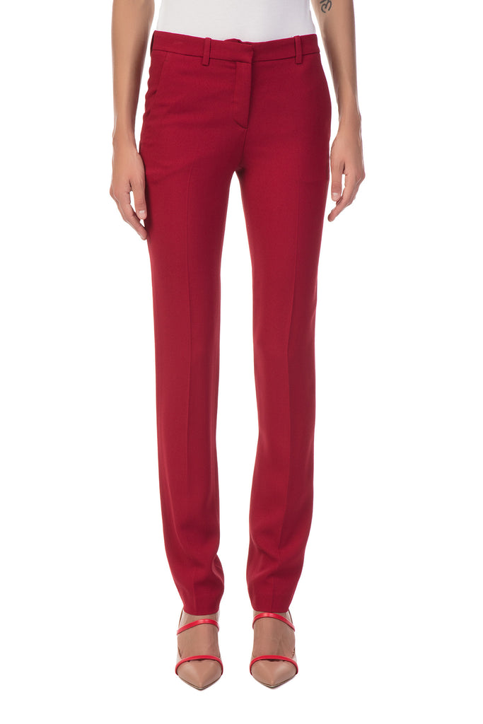 Theory - Straight Red Pants