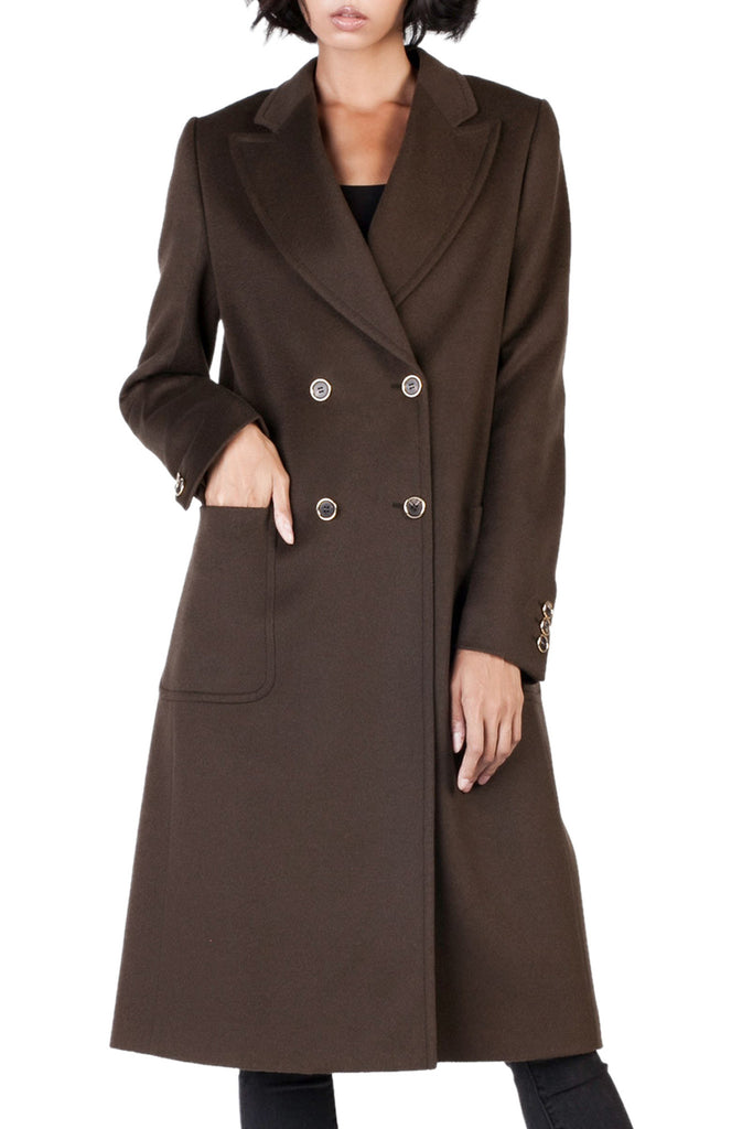 Agnona - Double Breasted Cashmere Coat
