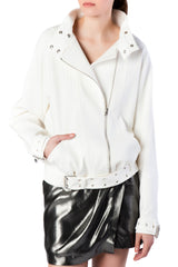 IRO - Hollie Cotton Biker Jacket