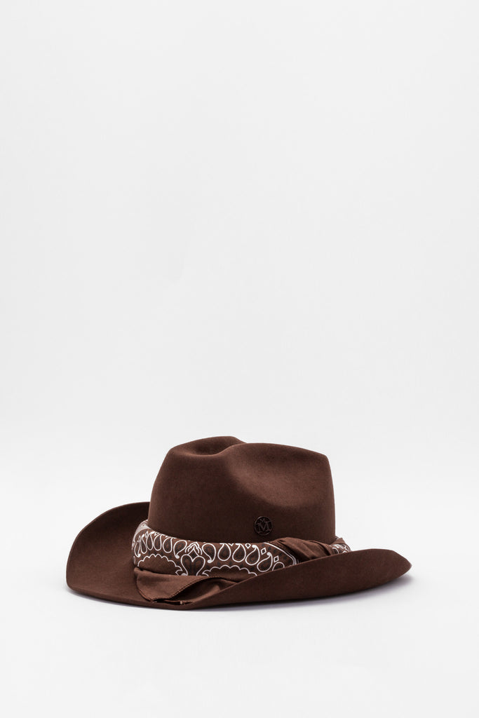 Maison Michel - Lucky Frosted Brownie Hat