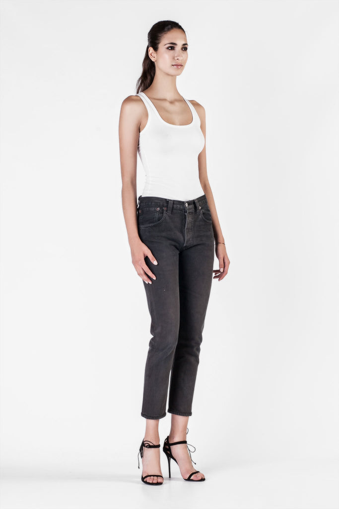 Re/Done  - Relaxed Crop Jeans