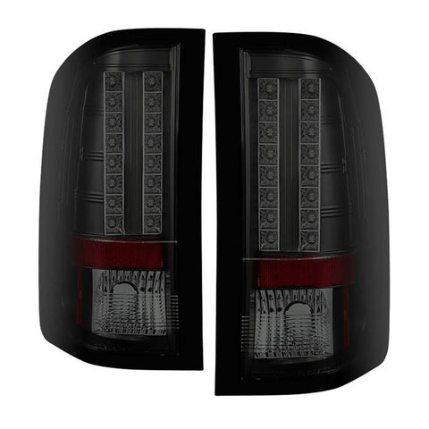 Chevy S10 94-04 / GMC Sonoma 94-04 / Isuzu Hombre 96-00 Euro Style Tail Lights - Black Smoke