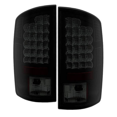 Dodge Ram 1500 09-18 / Ram 2500/3500 10-18 LED Tail Lights - Incandescent Model only ( Not Compatible With LED Model ) - Black Smoke