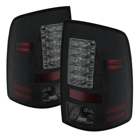Ford F150 Styleside 04-08 (Not Fit Heritage & SVT) LED Tail Lights - Black Smoke
