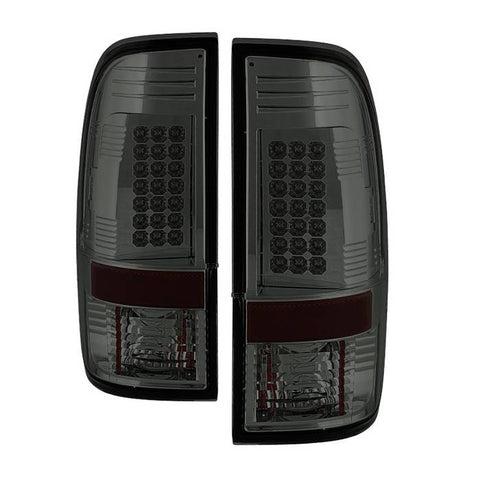 LED Tail Lights 2008-2016 Ford F250/350/450 Super Duty Spyder Automotive 5003935