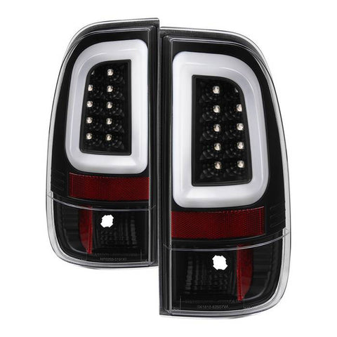 Ford Super Duty F-250/ F-350/ F-450 08-16 Version 3 Light Bar LED Tail Lights - Black Smoke