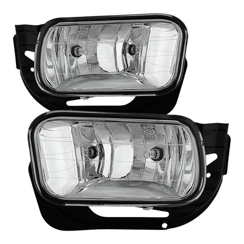 Dodge Ram 09-12 1500 / 10-18 2500 3500 OEM Fog Light ( Come With Metal Bracket ) No Switch - Smoked