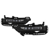 Honda Accord Sedan 2016-2017 OEM LED Fog Lights W/Switch- Clear
