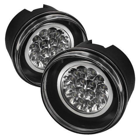 LED Fog Lights w/Switch 2005-2009 Jeep/Dodge Grand Cherokee/Dakota Spyder Automotive 5015686