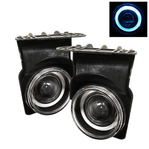 Halo Projector Fog Lights w/Switch 2003-2006 GMC Sierra 1500/1500HD/2500/2500HD/3500 Spyder Automotive 5021434