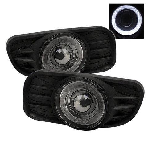 Halo Projector Fog Lights w/Switch 1999-2004 Jeep Grand Cherokee Spyder Automotive 5021502