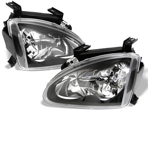 Crystal Headlights 1993-1997 Honda Del Sol Spyder Automotive 5012586
