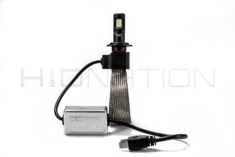 H7 Motorcycle LED Light Kit