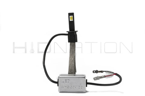 H1 Motorcycle LED Light Kit