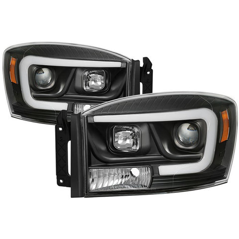 Ford F150 2015-2018 Light Bar LED Tail Lights ( Compatible With Rear Blind Spot Sensor Model Only ) - Black