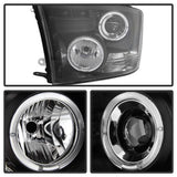 Halo LED Projector Headlights 2009-2016 Dodge Ram Spyder Automotive 5010032