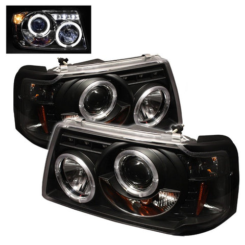 Halo LED Projector Headlights 2001-2011 Ford Ranger Spyder Automotive 5010490