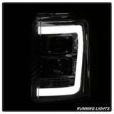 Ford Super Duty F-250/ F-350/ F-450 08-16 Version 3 Light Bar LED Tail Lights - Black