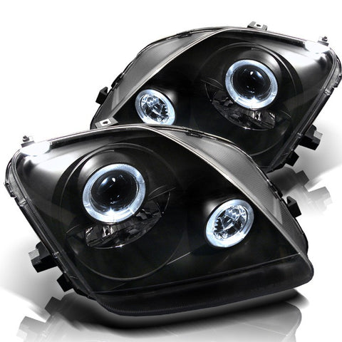 Halo LED Projector Headlights 1997-2001 Honda Prelude Spyder Automotive 5011039