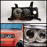 Halo LED Projector Headlights 2003-2007 Scion XB Spyder Automotive 5011893