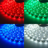 LED Strip Lights Multiple Colors (White,Blue,Red & Green)