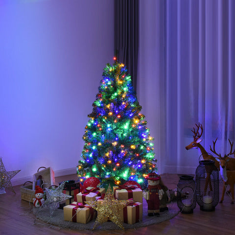 Pre-Lit 4Ft Artificial Christmas Tree with 100 LED Lights & Stand (High Quality, Free Shipping) T137