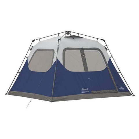 NEW 6 Person Instant Cabin Tent with Rainfly (Camping, Outdoor, Backyard, Fun, High Quality) - Exotic Blings