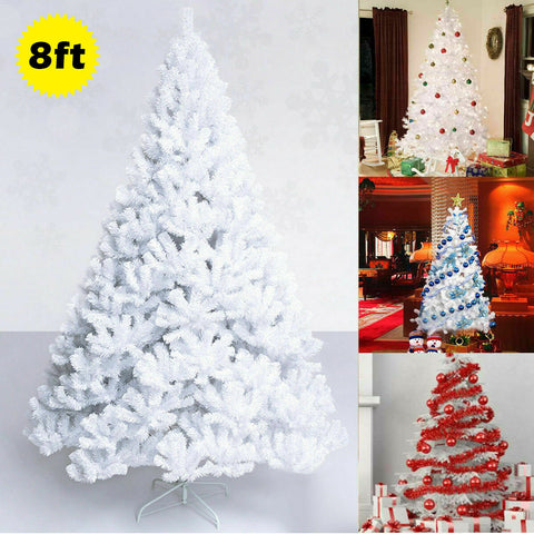 Exotic 8 Ft Artificial Christmas Tree W/Stand (LIMITED EDITION) T96