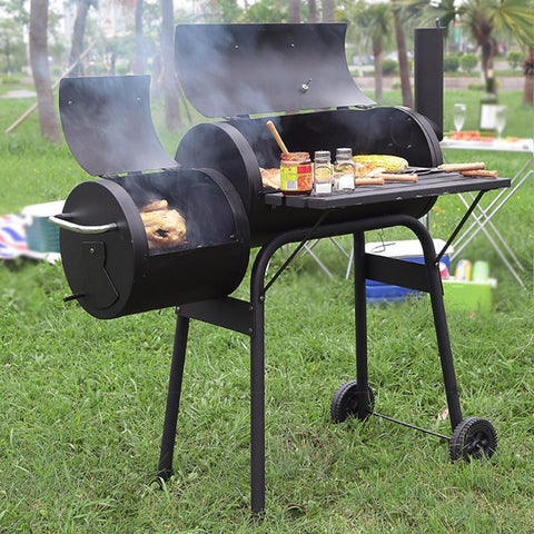 BBQ Grill Charcoal (Premium Barbecue Backyard Home Meat Cooker) T13