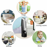 2 PCS Mini Ionic 2 Speed Home Air Purifier & Ionizer T83