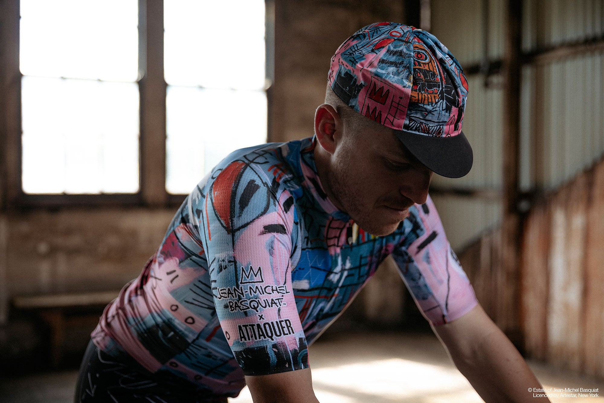 The Basquiat x Attaquer Cycling Apparel Collaboration dfad4fdef