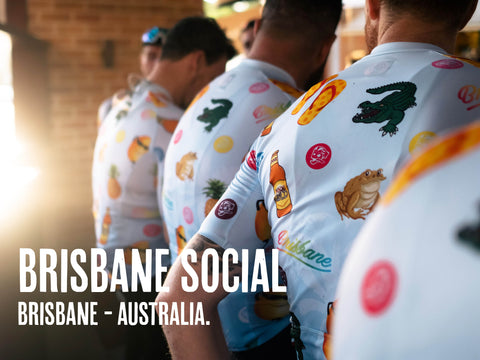 Attaquer Custom Cycling Kit Design Brissy Social