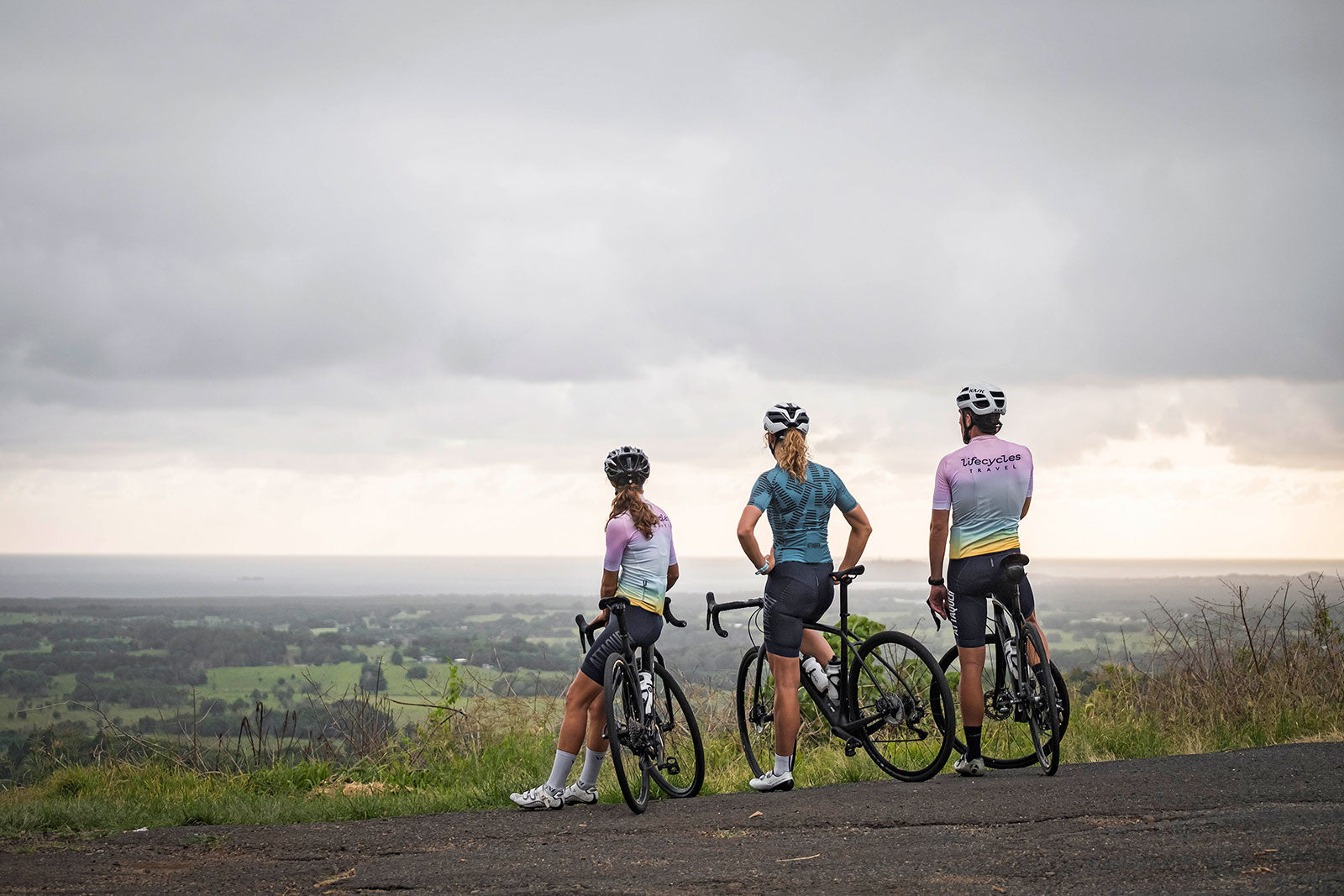 Byron Bay Cycling Attaquer and Cyclist Magazine Lifecycle Tours