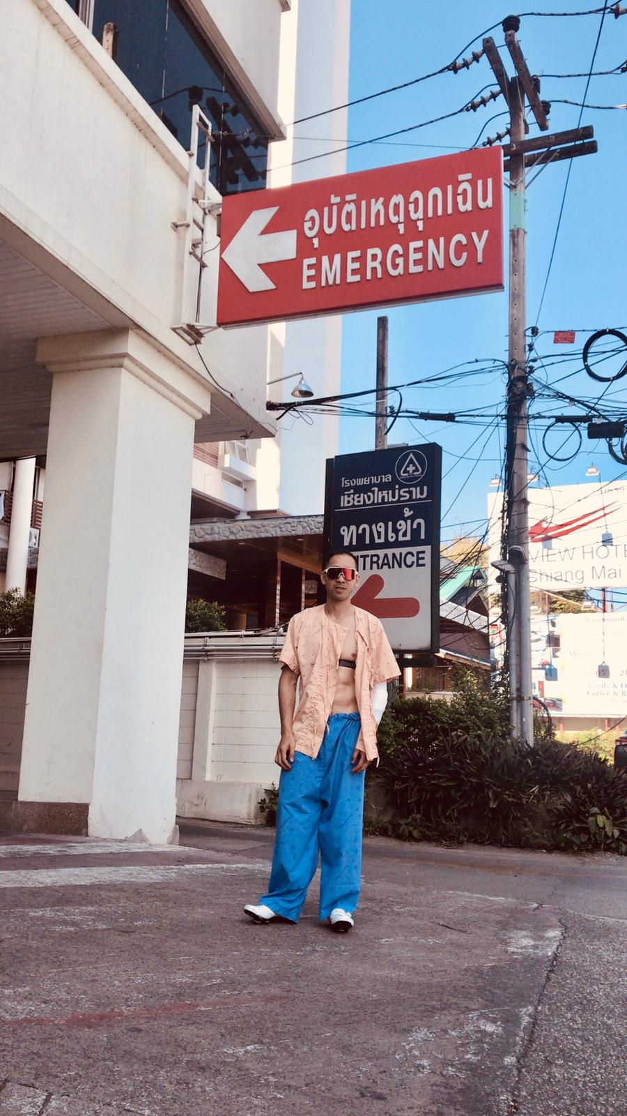 Thai hospital fashion is on another level