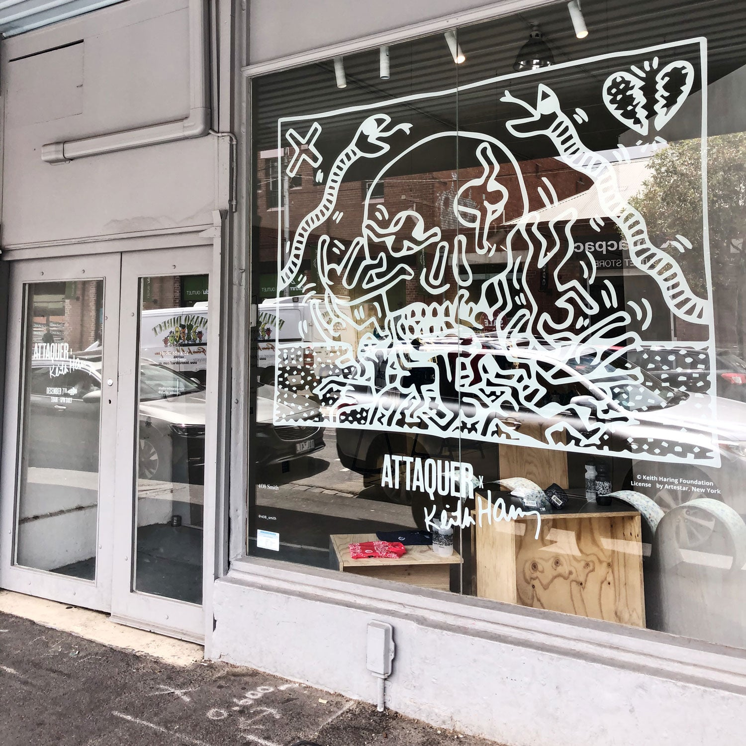 Keith Haring Pop Up Shop Melbourne