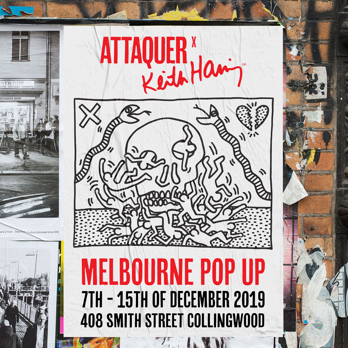 Melbourne Pop Up Cycling Apparel Attaquer