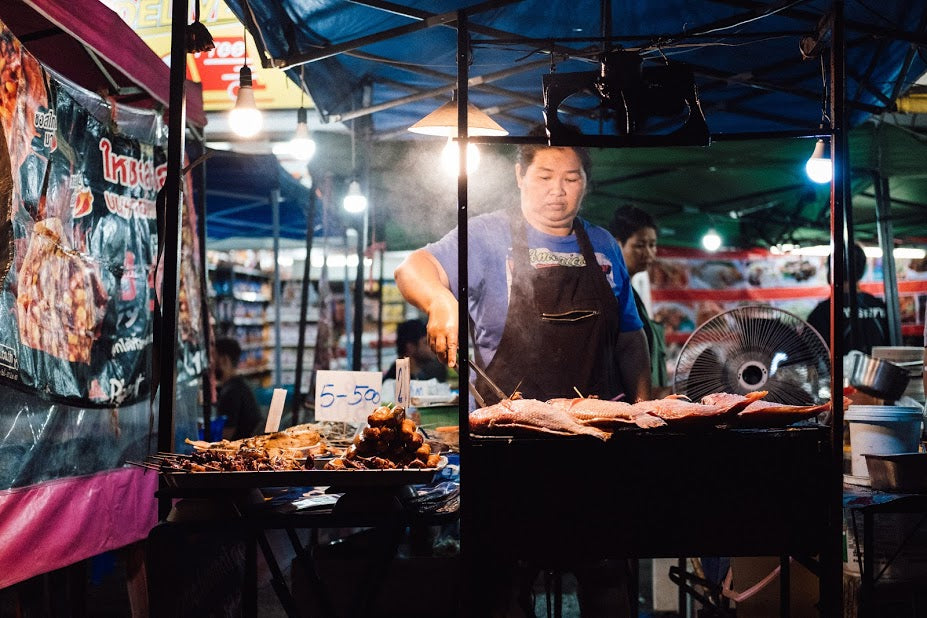 so many delicious street food options