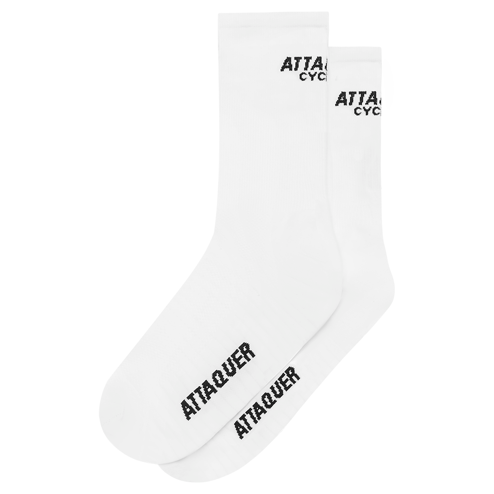 Attaquer Socks Club White main