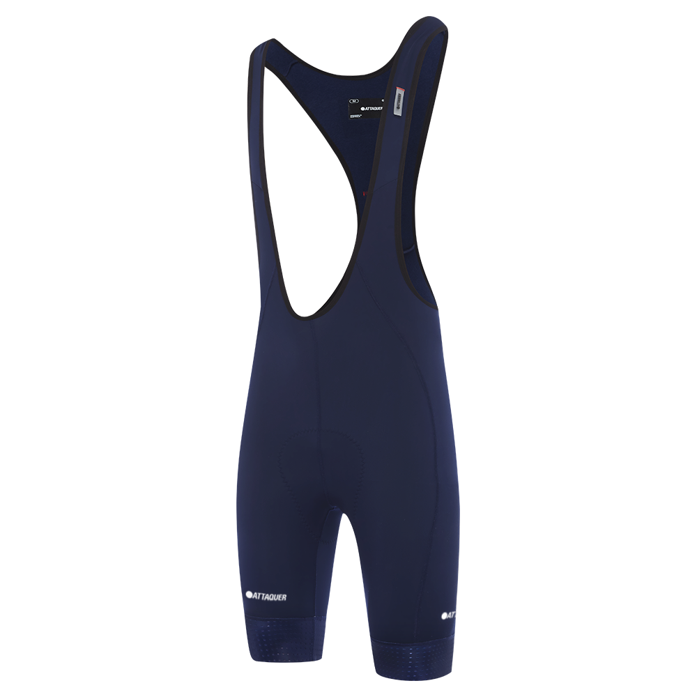 Attaquer Mens A-Line Winter bib shorts Navy main