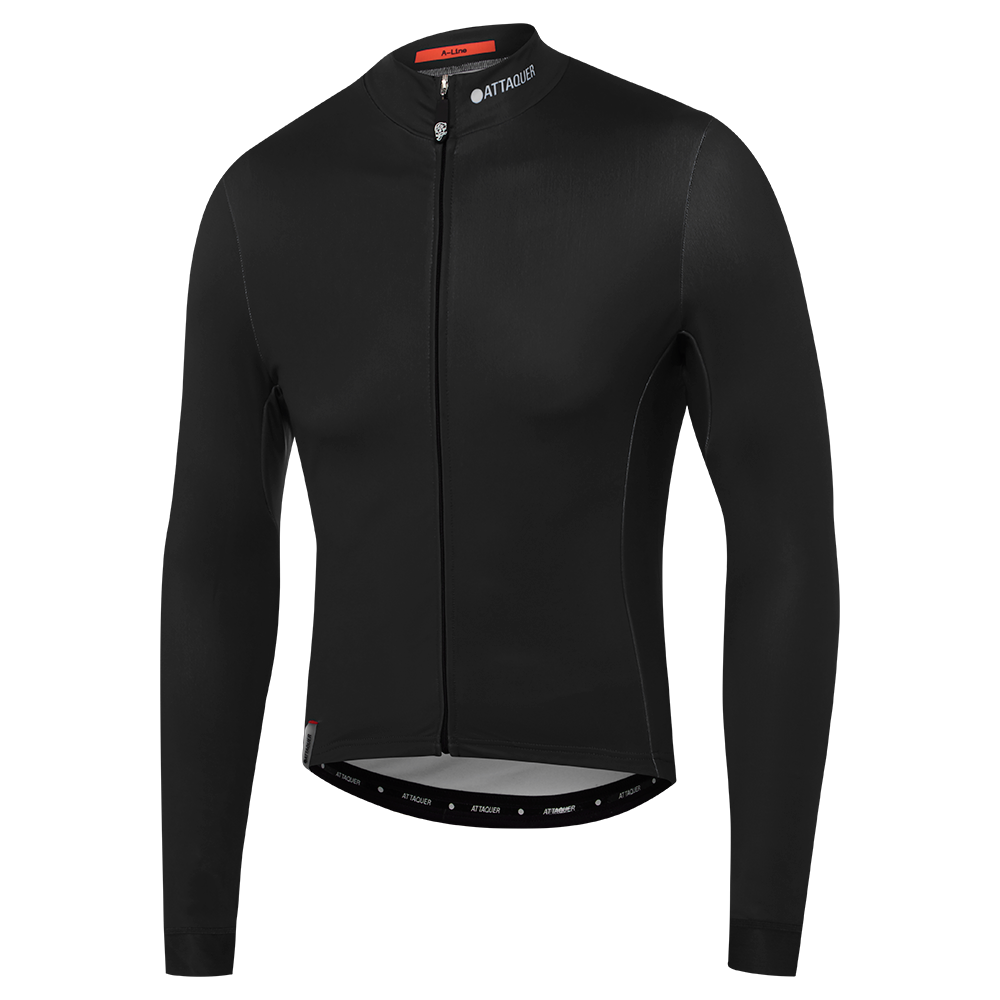 Attaquer Mens ALine Black Long Sleeve main