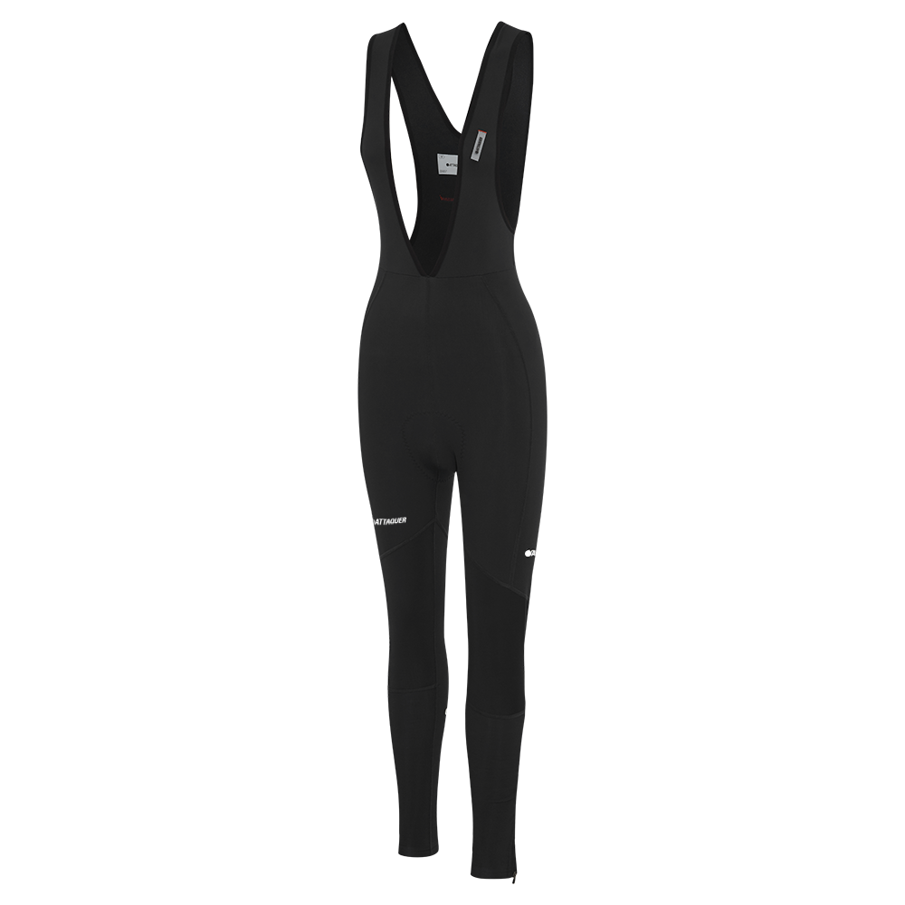 Attaquer Womens A-Line Winter Bibs Black main