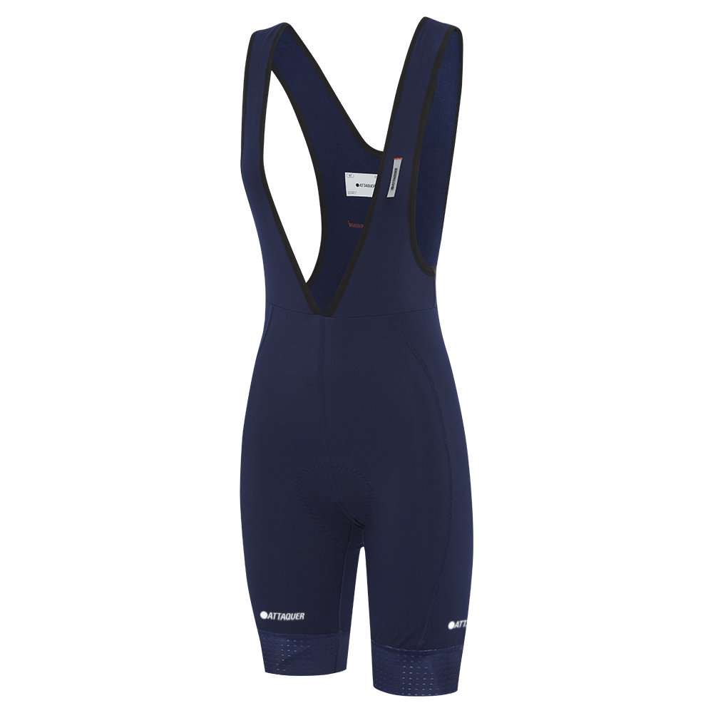 Attaquer Womens A-Line Winter Bibs Navy main