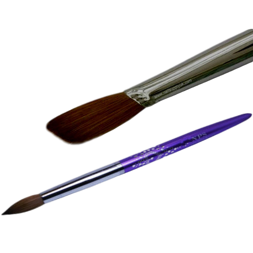 NPS Diamond Brush #14 Flat Shape-Nail Supply UK