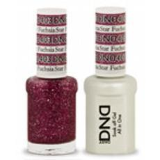 DND GEL 403 Fuchsia Star 2/Pack-Nail Supply UK