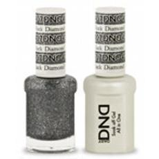 DND GEL 407 Black Diamond Star 2/Pack-Nail Supply UK