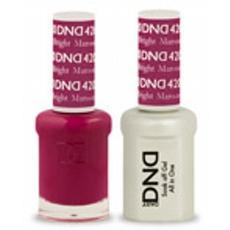 DND GEL 420 Bright Maroon 2/Pack