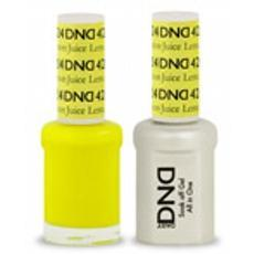DND GEL 424 Lemon Juice 2/Pack-Nail Supply UK